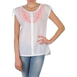 Odjeća Žene  Košulje kratkih rukava Antik Batik AYLA Bijela