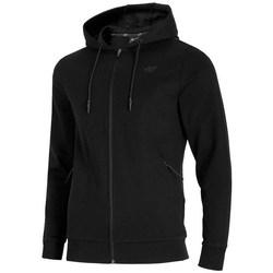 Odjeća Muškarci  Sportske majice 4F BLM016 Crna