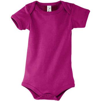 Odjeća Dječak  Potkošulje Sols BAMBINO FUCSIA Violeta