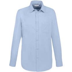 Odjeća Muškarci  Košulje dugih rukava Sols BOSTON FIT Azul Azul