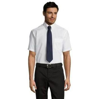 Odjeća Muškarci  Košulje kratkih rukava Sols BRISBANE FIT Blanco Blanco