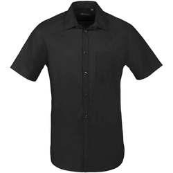 Odjeća Muškarci  Košulje kratkih rukava Sols BRISTOL FIT Negro Negro