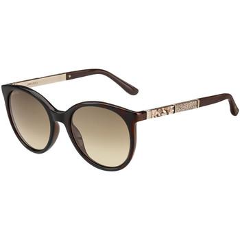 Satovi & nakit Žene  Sunčane naočale Jimmy Choo  Smeđa