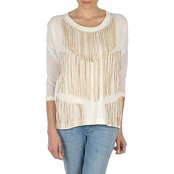 Odjeća Žene  Majice dugih rukava Eleven Paris ANGIE Bijela