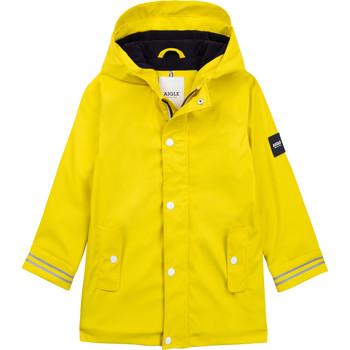Odjeća Djeca Vjetrovke Aigle PAULA Žuta