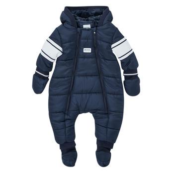 Odjeća Dječak  Pernate jakne BOSS TRENINE Blue