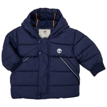 Odjeća Dječak  Pernate jakne Timberland ASSAGAC Blue