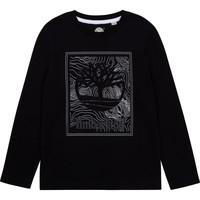 Odjeća Dječak  Majice dugih rukava Timberland AIFRET Crna