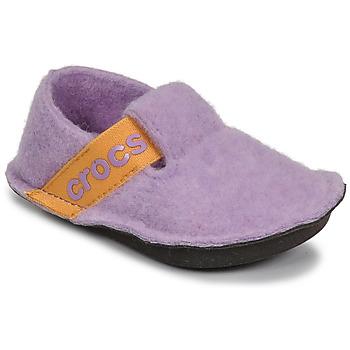 Obuća Djevojčica Papuče Crocs CLASSIC SLIPPER K Ljubičasta / Žuta