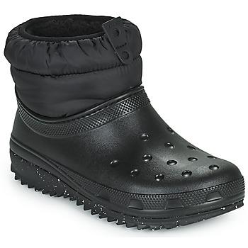 Obuća Žene  Čizme za snijeg Crocs CLASSIC NEO PUFF SHORTY BOOT W Crna