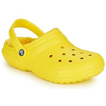 Obuća Klompe Crocs CLASSIC LINED CLOG Žuta