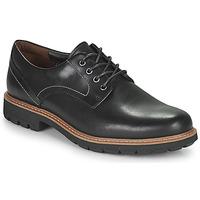 Obuća Muškarci  Derby cipele Clarks BATCOMBE HALL Crna