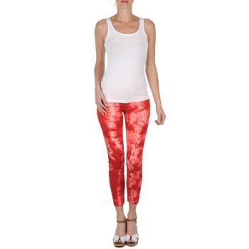 Odjeća Žene  Hlače 3/4 i 7/8 Eleven Paris DAISY Red / Bijela