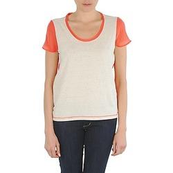 Odjeća Žene  Majice kratkih rukava Eleven Paris EDMEE Bež / Narančasta