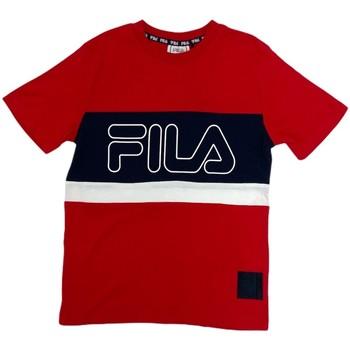 Odjeća Djeca Majice kratkih rukava Fila 688138 Crvena