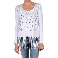 Odjeća Žene  Majice dugih rukava Manoush TUNIQUE LIANE Bijela