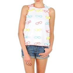 Odjeća Žene  Majice s naramenicama i majice bez rukava Manoush TOP NOEUD NOEUD Bijela