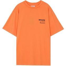 Odjeća Muškarci  Majice kratkih rukava Sixth June T-shirt  barcode orange