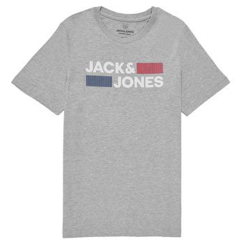 Odjeća Dječak  Majice kratkih rukava Jack & Jones JJECORP LOGO TEE SS Siva