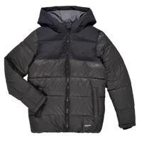 Odjeća Dječak  Pernate jakne Jack & Jones JJVENUS HEAVY PUFFER Crna