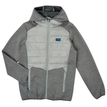 Odjeća Dječak  Kratke jakne Jack & Jones JCOTOBY HYBRID JACKET Siva