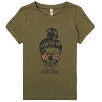 Odjeća Djevojčica Majice kratkih rukava Only KONKITA Kaki