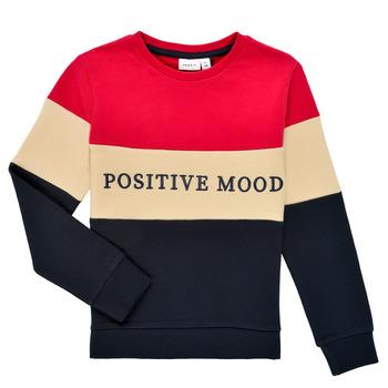Odjeća Djevojčica Sportske majice Name it NKFLIBEL LS SWEAT Multicolour