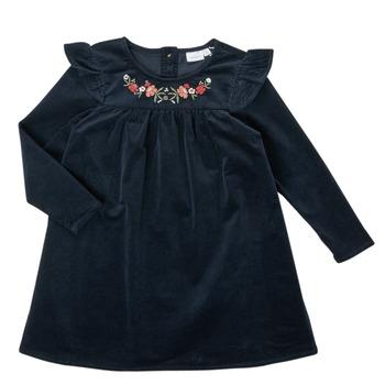 Odjeća Djevojčica Kratke haljine Name it NMFNISRINE LS DRESS Blue