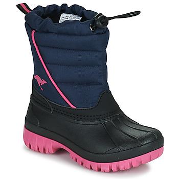 Obuća Djevojčica Čizme za snijeg Kangaroos K-BEN Blue / Ružičasta
