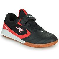 Obuća Djeca Niske tenisice Kangaroos K5-COURT EV Crna / Red
