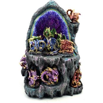 Dom Dekorativni predmeti  Signes Grimalt Zaslon Sa 12 Dragons 12U Azul