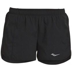 Odjeća Žene  Bermude i kratke hlače Saucony SAW800086BK Crna