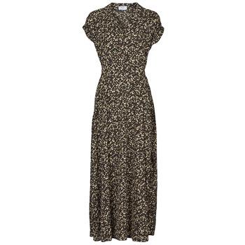Odjeća Žene  Duge haljine Betty London  Crna / Multicolour
