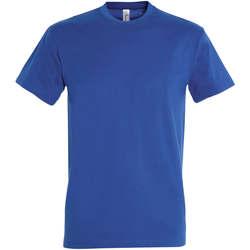 Odjeća Žene  Majice kratkih rukava Sols IMPERIAL camiseta color Azul Royal Azul