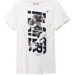 Odjeća Muškarci  Majice kratkih rukava 4F TSM011 Bijela