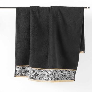 Dom Ručnici i rukavice za pranje Douceur d intérieur ORBELLA Crna