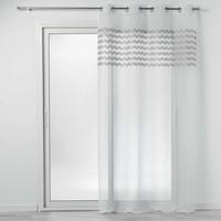 Dom Zavjese Douceur d intérieur SANDINA Bijela / Siva