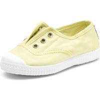 Obuća Djeca Tenis Cienta Chaussures en toiles  Tintado jaune pastel