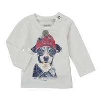 Odjeća Dječak  Majice dugih rukava Ikks AUBERGINE Bijela
