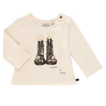 Odjeća Djevojčica Majice dugih rukava Ikks PAON Bijela
