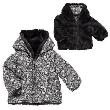 Odjeća Djevojčica Pernate jakne Ikks CAFE AU LAIT Multicolour