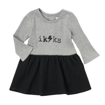Odjeća Djevojčica Kratke haljine Ikks CARAMEL Multicolour