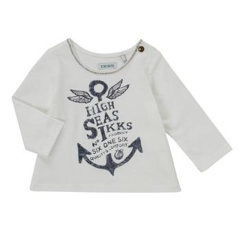 Odjeća Djevojčica Majice dugih rukava Ikks CHOCOLAT Bijela