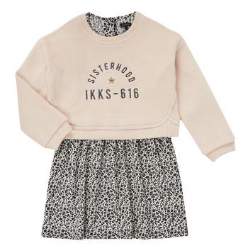Odjeća Djevojčica Kratke haljine Ikks MENTHE Bež