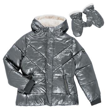 Odjeća Djevojčica Pernate jakne Ikks OLIVE Srebrna