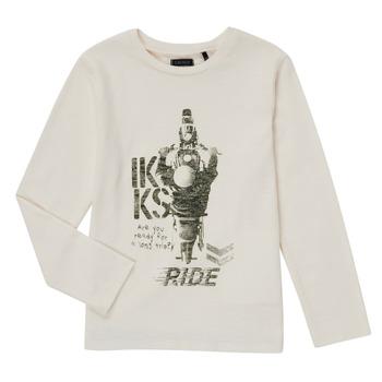 Odjeća Dječak  Majice dugih rukava Ikks CERISE Bijela