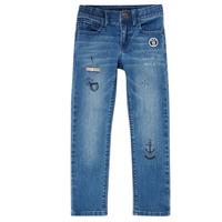 Odjeća Dječak  Slim traperice Ikks VANILLE Blue