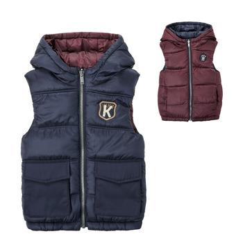 Odjeća Dječak  Pernate jakne Ikks VERMEIL Blue