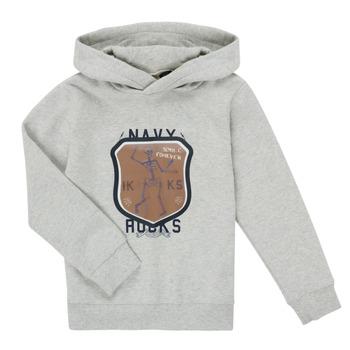 Odjeća Dječak  Sportske majice Ikks LAVANDE Siva