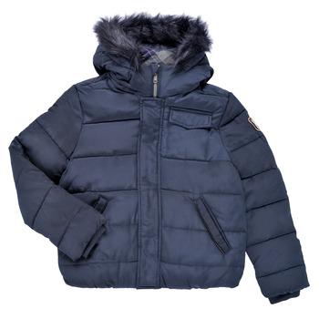 Odjeća Dječak  Pernate jakne Ikks MAGENTA Blue